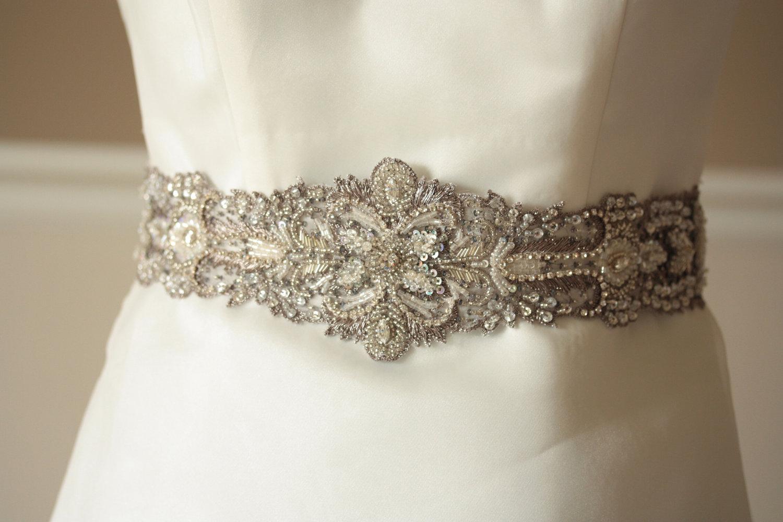 Antique Wedding Finds From Etsy Vintage Bridal Sash