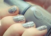 unique wedding nail art DIY bridal beauty projects 1 ...