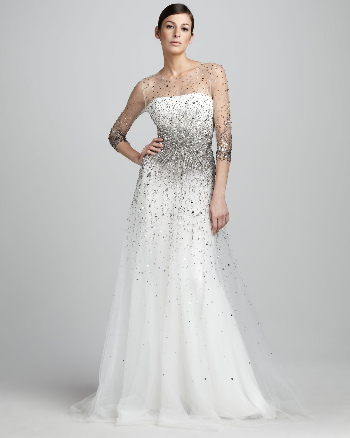 Magnificent Neiman Marcus Designer Evening Gowns Model - Ball Gown ...