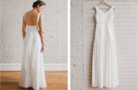 simple wedding dresses understated bridal gown 2 | OneWed.com