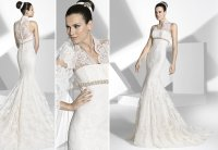 2013 wedding dress Franc Sarabia bridal gowns Spanish ...