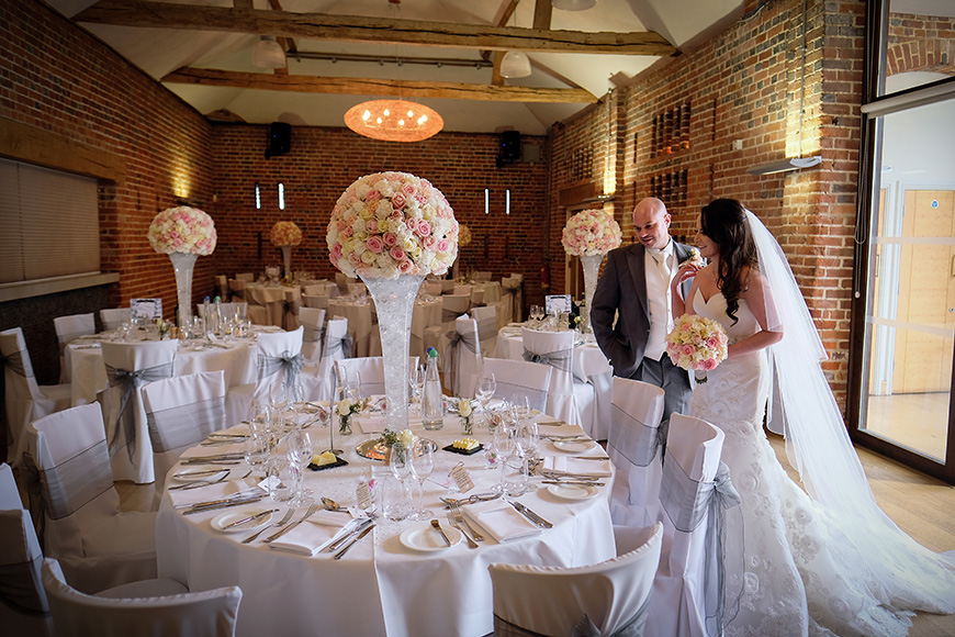 A Shabby-Chic Wedding At Wasing Park