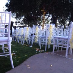 Where To Buy Chair Sashes Narrow Office Ruffle Sash Diy Chloe And Armando S Wedding