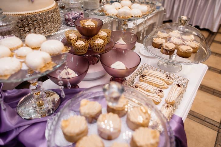 słodycze ciastka wesele