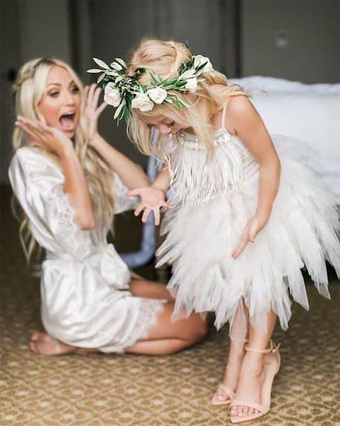 fryzury na wesele dla dziewczynek wianek