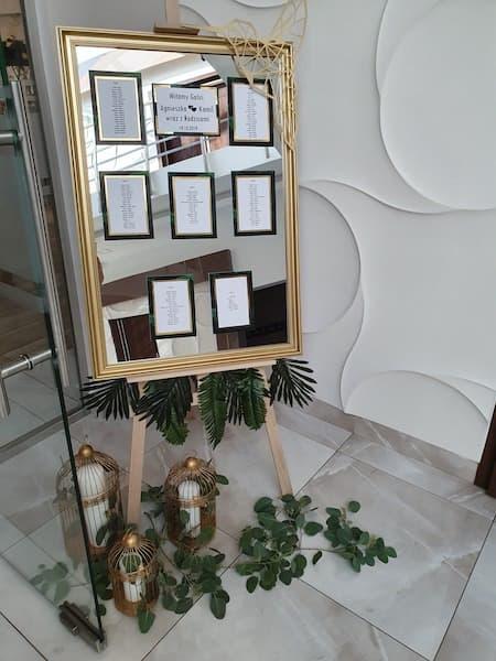 dekoracja na wesele plan stołów