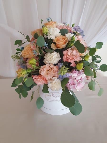 kwiaty na wesele prezent