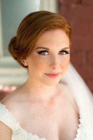 makijaż ślub typ jesień rude włosy naturalny