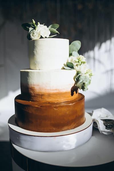 torty na wesele malowane