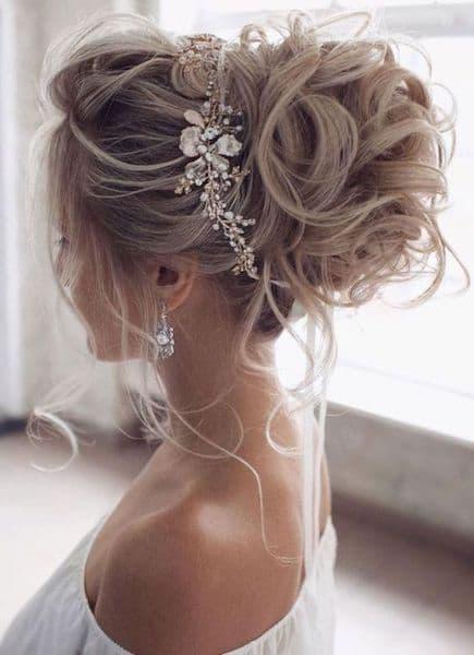 upięcie na ślub biżuteria ozdoby
