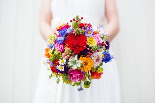 Blumen Hochzeit Sommer