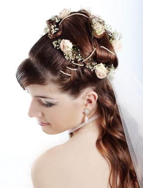 beautiful wedding hairstyles 2013