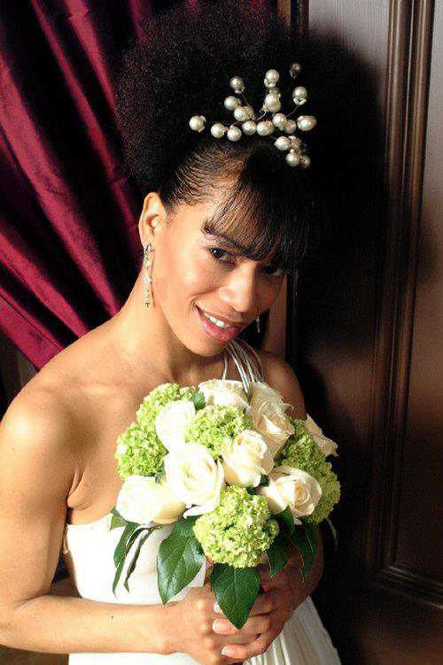 Natural Wedding Hairstyles For Black Women Wedding And