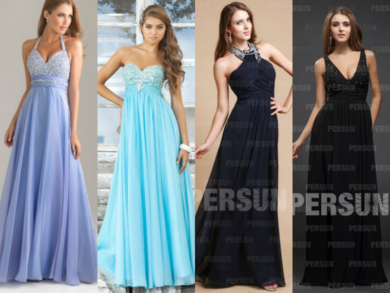 Different Types Of Evening Dresses