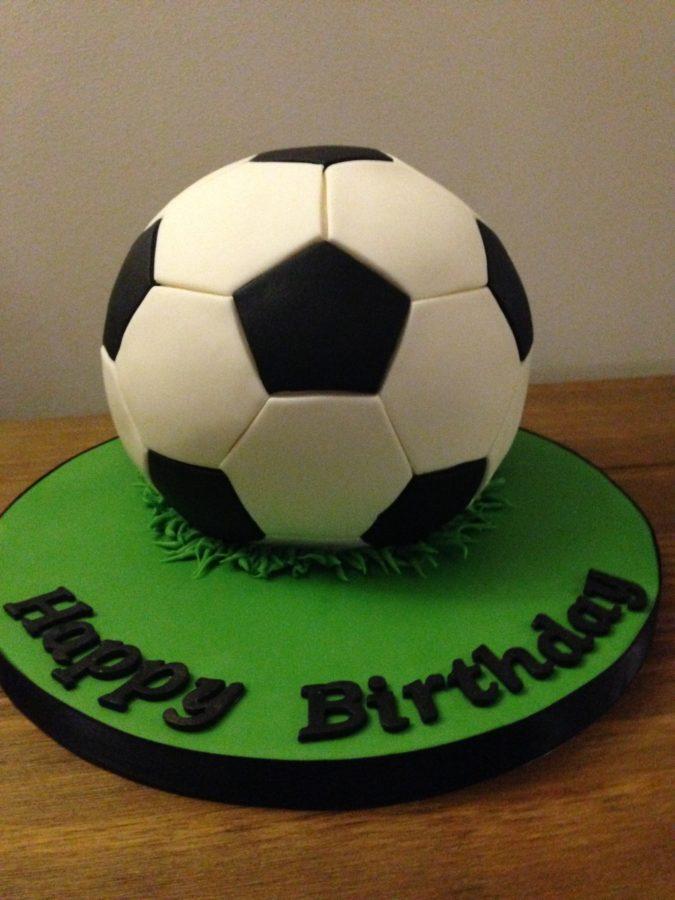 Football Birthday Cake Dreams And Wishes Cake Company