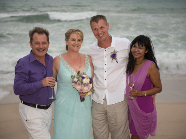Paul and Supparin Vow Renewal