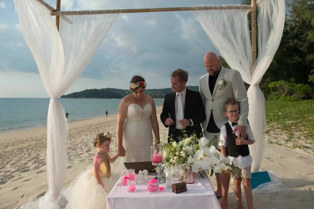 Phuket beach wedding vow renewal (6)
