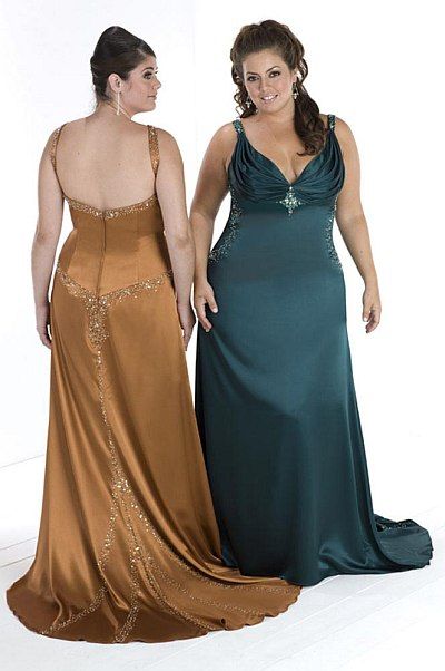 10 Plus size bridesmaid dresses