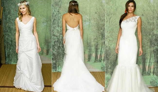 Adele Wechsler's wedding dresses