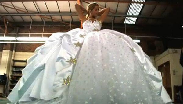 Biggest Gypsy Wedding Dress Ever
