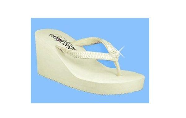 Breeze Bridal Flip Flop Wedding Sandal