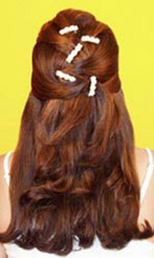 bridal hairstyles hairdos bridal makeups 2