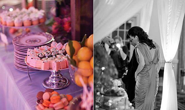 Bridesuite and the dessert bar