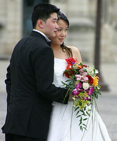 chinese couples chinese bride and groom