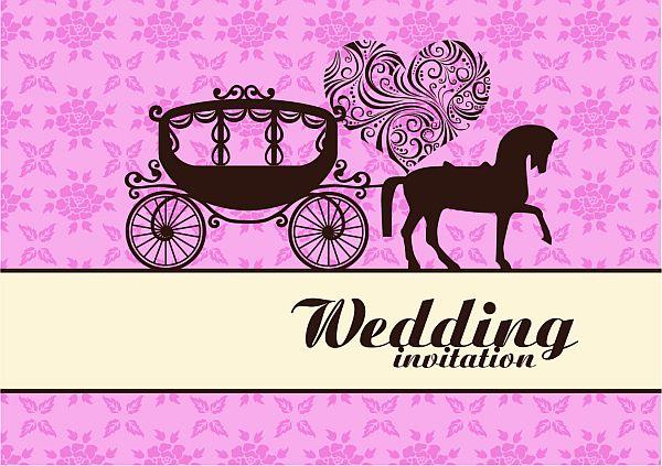 Cinderella wedding invitation