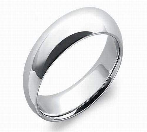 Comfort Fit Wedding Ring