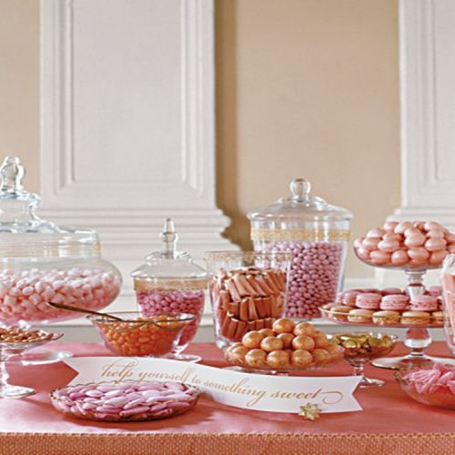 Confections table