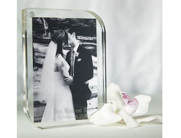 Contemporary Acrylic Photo Frame