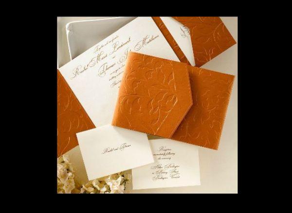 Copper Leaves Pocket