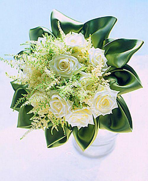 Creamy Gardenia wedding bouquet