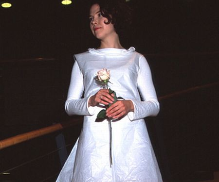 disposable wedding gown for budget wedding 14