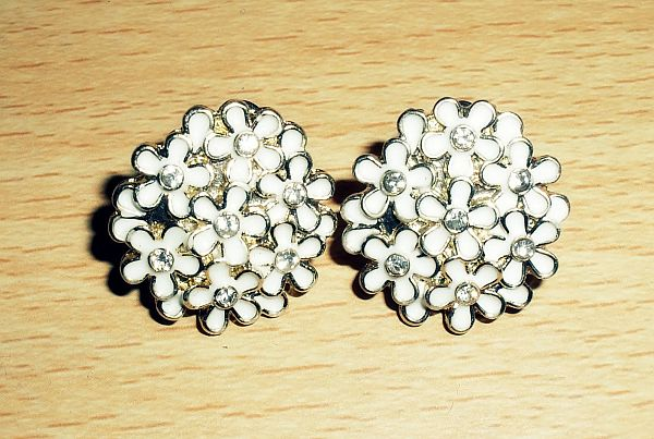 Elaborate stud earrings