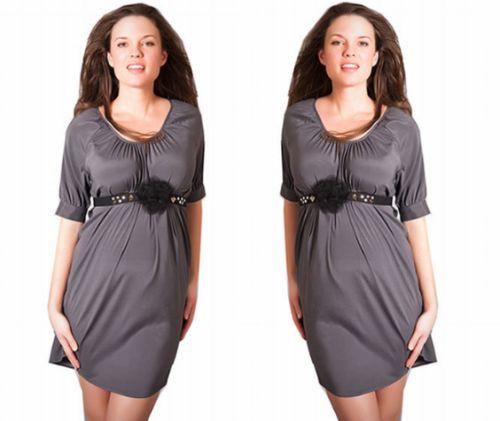 Grey Favorite Shirtdress