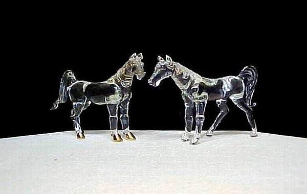 Horse wedding cake