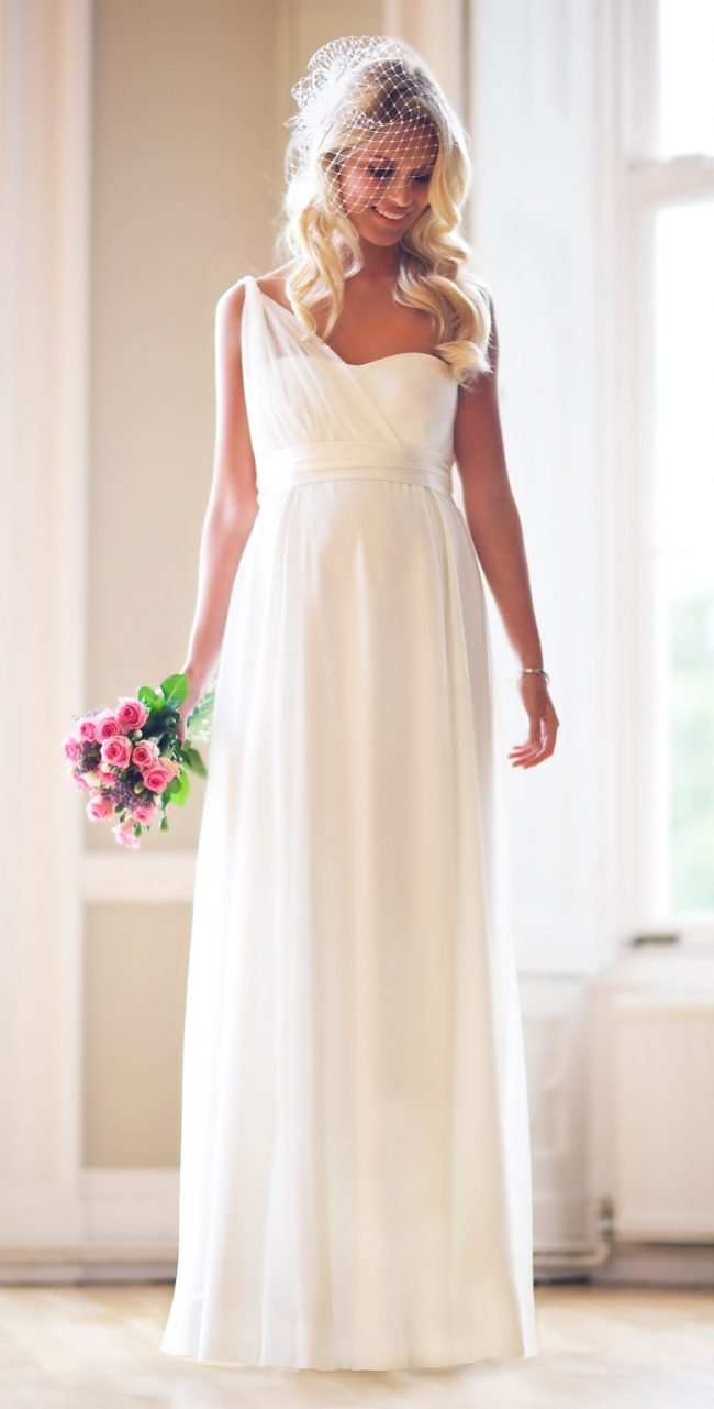 Affordable maternity wedding gowns for lovely brides wedding clan asymmetrical wedding gown ombrellifo Images