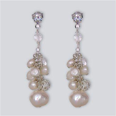 pear earrings bridal earrings 1