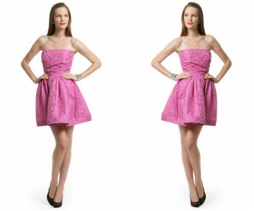 Pink Digital Skirt Dress