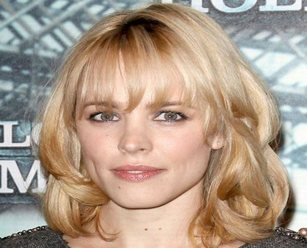 Rachel McAdams's simple and graceful hairstyle