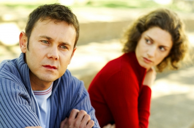 Reasons for ending of a marriage relationship
