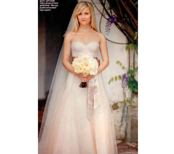 Reese Witherspoon Wedding Dress: Best Celebrity Wedding Dresses
