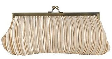 satin pleated bridal clutch 49
