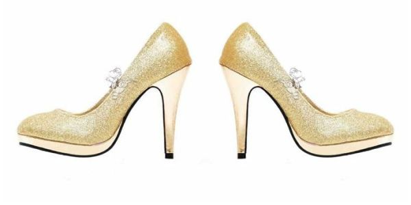 Sequinned Shoes