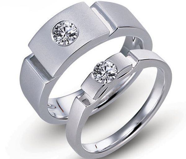 Titanium wedding rings