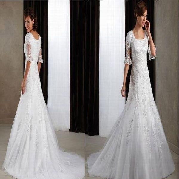 Top 10 Best Wedding Dresses with Sleeves - Wedding Clan