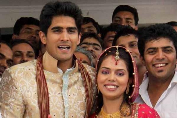 Vijender Singh wedding