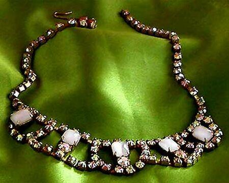 vintage bridal necklace 1